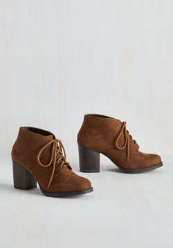 Take a Prance on Me Bootie in Chestnut