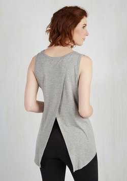 Boost the Basics Tank in Ash