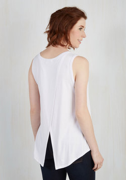 Boost the Basics Tank in White