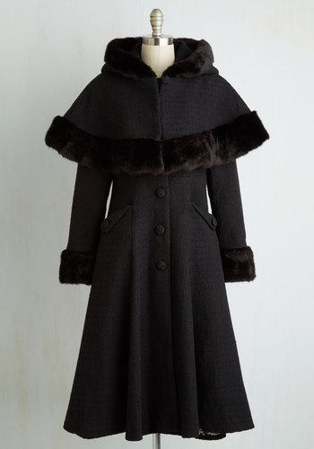 1950s Style Coats and Jackets Cape Me Company Coat $299.99 AT vintagedancer.com
