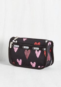 A Love and Beyond Makeup Bag