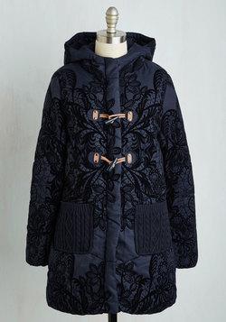 Warmth's a Brewin' Coat