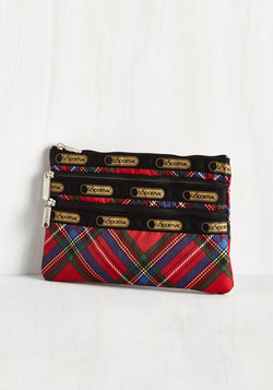 Plaid You Could Make It Pouch