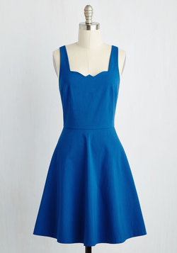 Care to Romance? Dress in Royal Blue