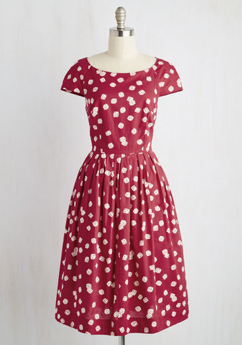 Unmatched Panache Dress in Dice
