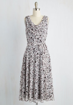 Undoubtedly Adorable Dress in Floral