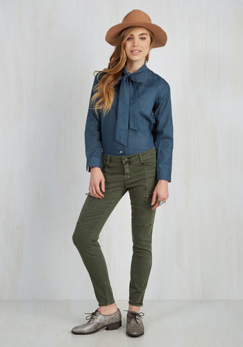 Work From Home Hero Pants in Olive
