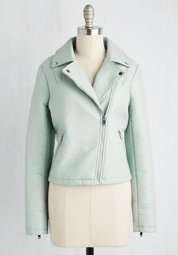 Edgy Meets Elegant Jacket