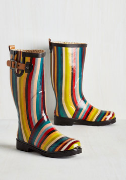 Puddle Jumper Rain Boot in Stripes