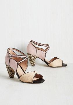 Eclectic Company Heel in Petal