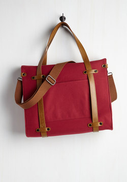 Camp Director Tote in Cherry