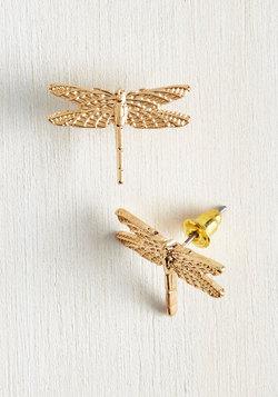 Dragonfly By Earrings