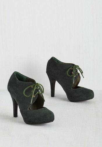 Prophetic Aesthetic Heel in Fir $49.99 AT vintagedancer.com