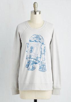 In the Sidekick of Time Reversible Sweatshirt