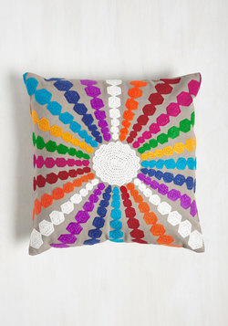 Ray of Bright Pillow