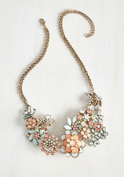 Vow to Wow Necklace in Blush
