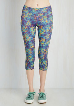 All the Bright Moves Athletic Leggings in Prismatic