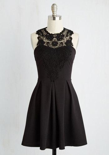 Noir and Away Dress