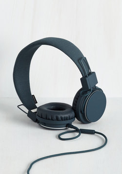 Thoroughly Modern Musician Headphones in Indigo