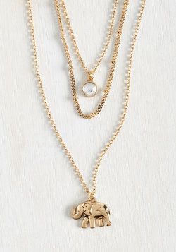 Elephant Elegance Necklace