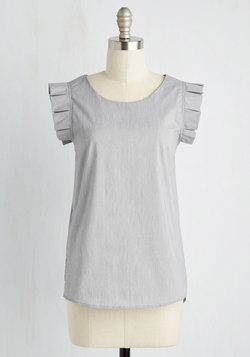 Take Charm Top in Grey