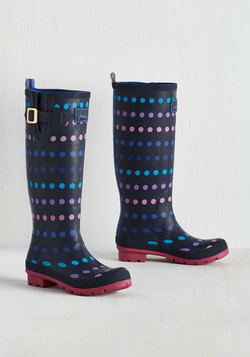 Splash the Time Rain Boot in Dots