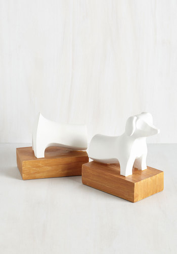 Hound Poetry Bookends