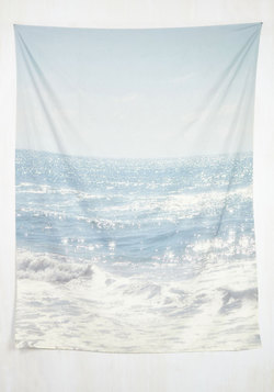 Ocean and Wishin' Tapestry