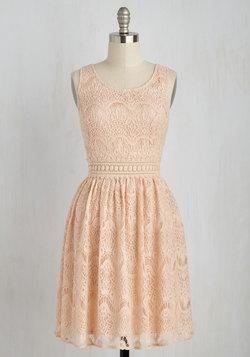 Peeked Interest Dress
