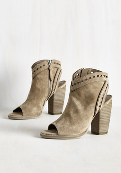 High Rise Haute Bootie