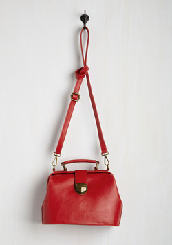 Enroll With It Bag in Cherry