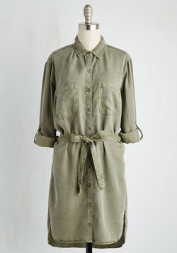 First Friday Fab Tunic in Olive