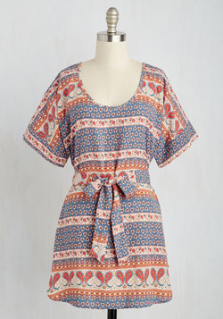 Medium Format Memory Tunic in Paisley