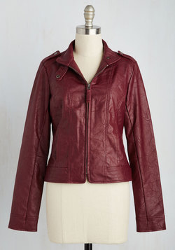 What Motors Most Jacket in Garnet