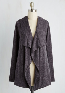 Chill You Be Mine? Cardigan in Charcoal