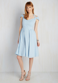Ladylike a Dream Dress in Blue