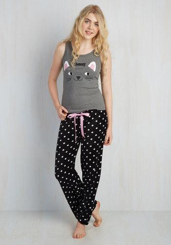 In Purr the Night Pajamas plus size,  plus size fashion plus size appare