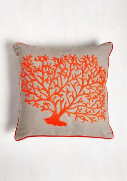 Coral Arrangement Pillow