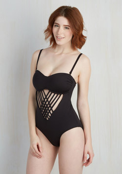 When and Flair? One-Piece Swimsuit