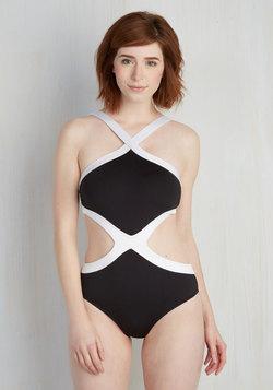 I've Got Your Backstroke One-Piece Swimsuit