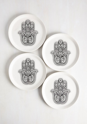 Exactly as Hand Plate Set