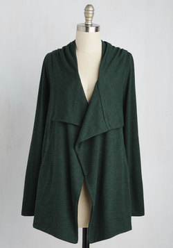 Chill You Be Mine? Cardigan in Forest