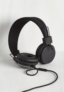 Thoroughly Modern Musician Headphones in Black