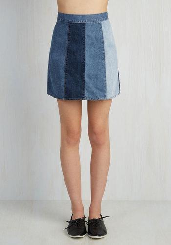 Jill of All Shades Skirt
