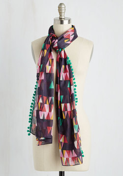 Personal Style Pep Talk Scarf in Small Print