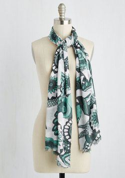 Overseas the Day Scarf