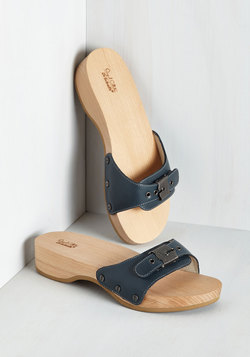 Maritime to Shine Sandal in Navy