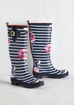 Splash the Time Rain Boot in Blossoms