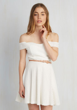 Eyelet It Go Dress