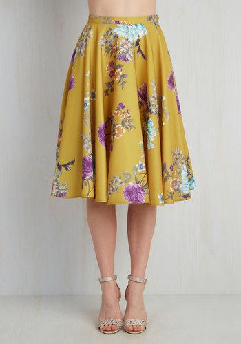 Ikebana for All Skirt in Floral